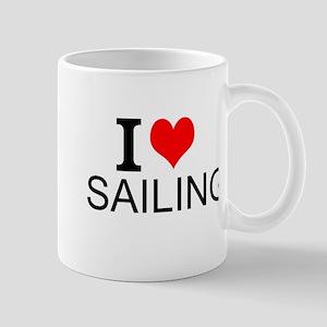 I Love Sailing Mugs