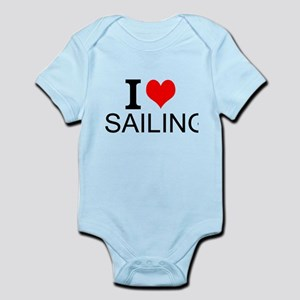 I Love Sailing Body Suit
