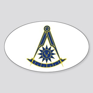 Past Master 1 Sticker (Oval)