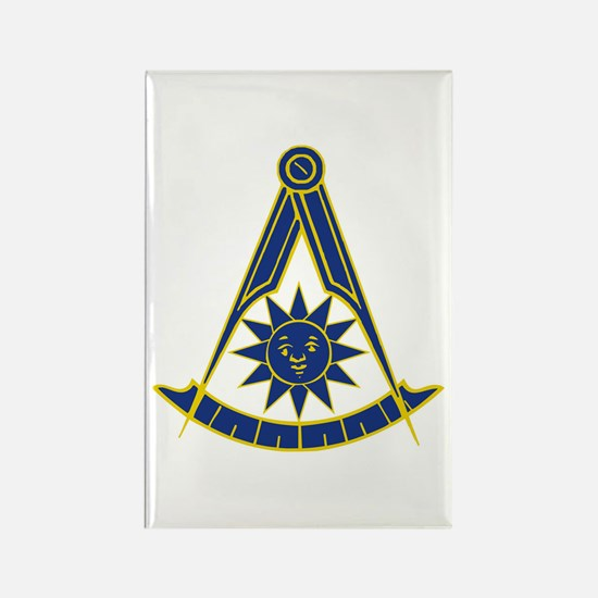 Past Master 1 Rectangle Magnet