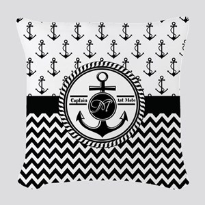 Nautical Captain and First Mate Customizable Woven