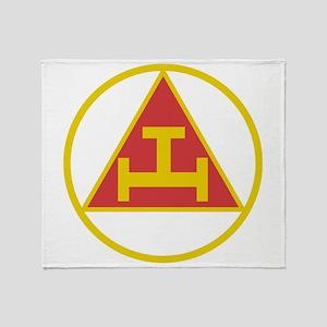 Royal Arch Gold Throw Blanket