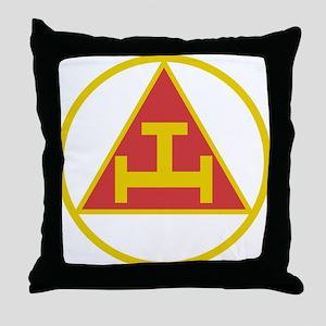Royal Arch Gold Throw Pillow