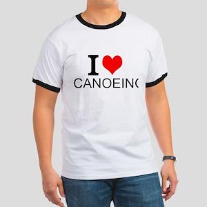I Love Canoeing T-Shirt