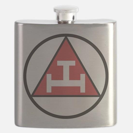 Royal Arch Black Flask