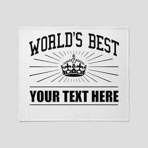 World's best ... Throw Blanket