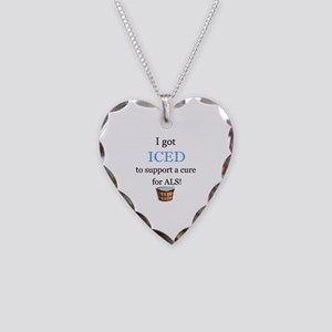 Got Iced Necklace Heart Charm