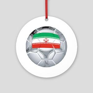 Iran Football Ornament (Round)