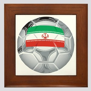 Iran Football Framed Tile