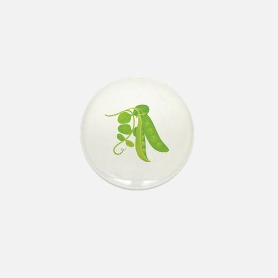 Peas Plant Mini Button