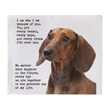 Dachshund Fleece Blankets