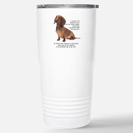 Dachshund Travel Mug