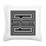Jiu-Jitsu Square Canvas Pillow