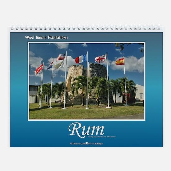 West Indies Rum Wall Calendar