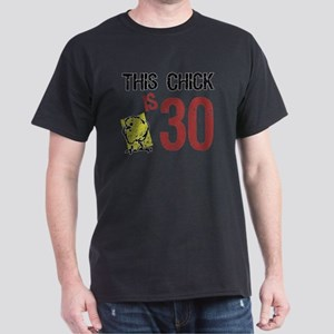 Women's Funny 30th Birthday Dark T-Shirt