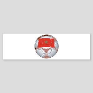 Morocco Football Bumper Sticker