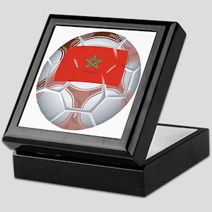 Morocco Football Keepsake Box