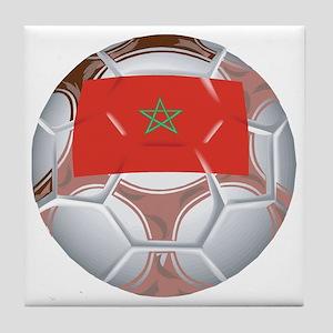 Morocco Football Tile Coaster