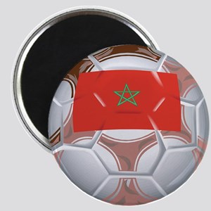 Morocco Football Magnet