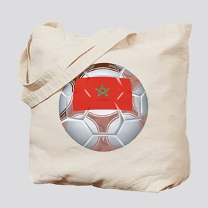 Morocco Football Tote Bag