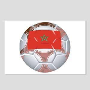 Morocco Football Postcards (Package of 8)