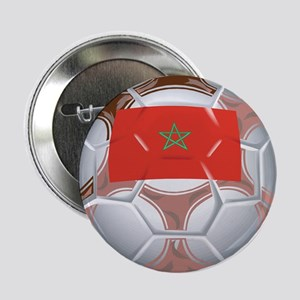 Morocco Football Button