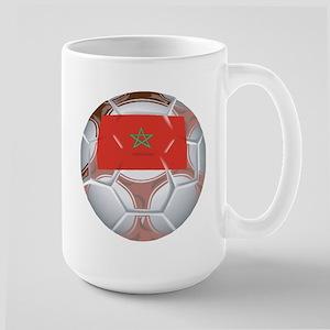 Morocco Football Large Mug