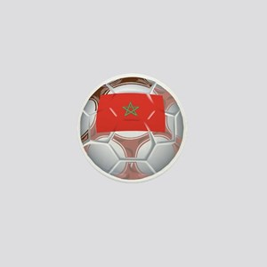 Morocco Football Mini Button