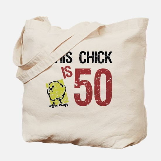 Women's Funny 50th Birthday Tote Bag