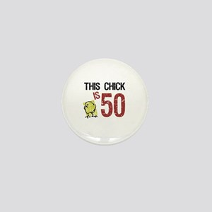 Women's Funny 50th Birthday Mini Button