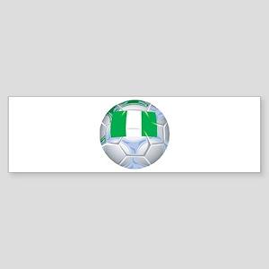 Nigeria Football Bumper Sticker