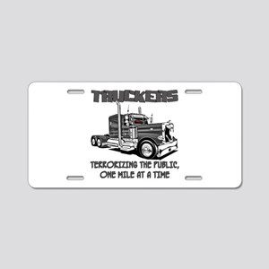 Truckers-Terrorizing The Aluminum License Plate