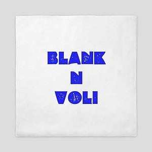 BlankNVoli Blue Queen Duvet