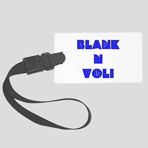 BlankNVoli Blue Luggage Tag