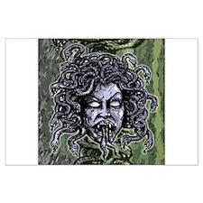Head of Medusa Large Poster