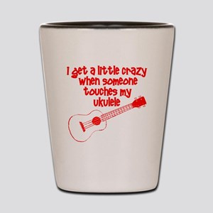 Ukulele Crazy Shot Glass