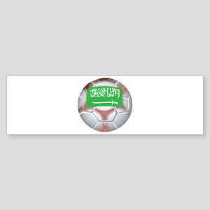 Saudi Arabia Football Bumper Sticker