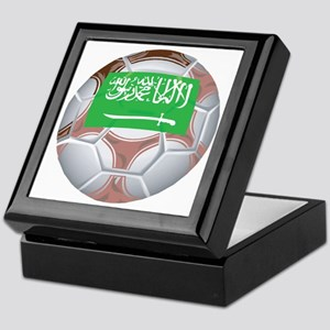 Saudi Arabia Football Keepsake Box