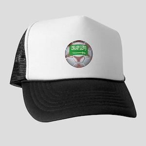 Saudi Arabia Football Trucker Hat