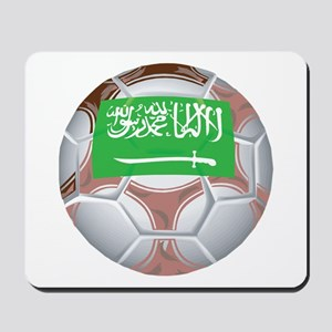 Saudi Arabia Football Mousepad