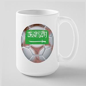 Saudi Arabia Football Large Mug