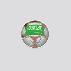 Saudi Arabia Football Mini Button