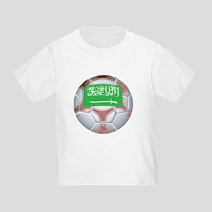 Saudi Arabia Football Toddler T-Shirt