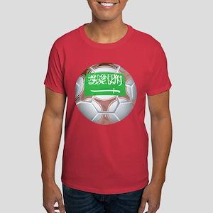 Saudi Arabia Football Dark T-Shirt