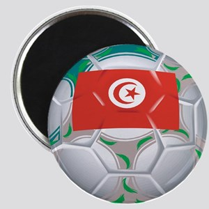 Tunisia Football Magnet