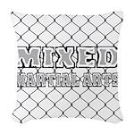 Mixed Martial Arts Woven Throw Pillow