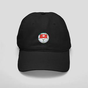 Tunisia Football Black Cap