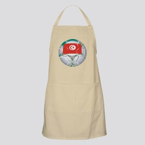Tunisia Football BBQ Apron