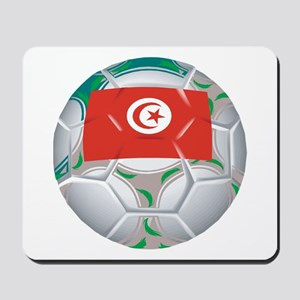 Tunisia Football Mousepad
