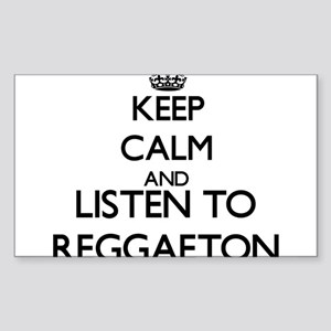 Keep calm and listen to REGGAETON Sticker